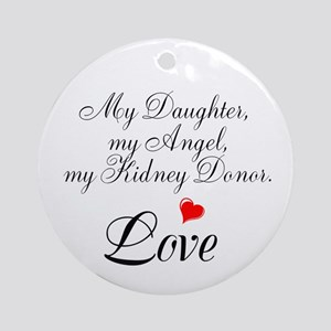 My Daughter,my Angel Ornament (Round)