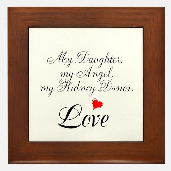 My Daughter,my Angel Framed Tile