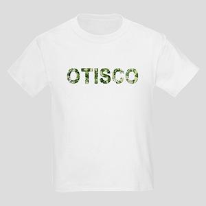 Otisco, Vintage Camo, Kids Light T-Shirt