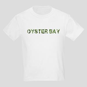 Oyster Bay, Vintage Camo, Kids Light T-Shirt