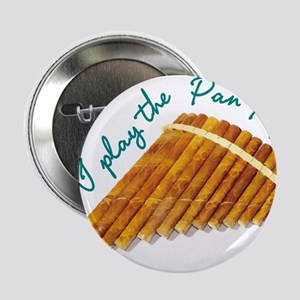 """Pan Pipes 2.25"""" Button"""