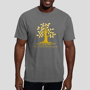 eyetree1-yel-T Mens Comfort Colors Shirt