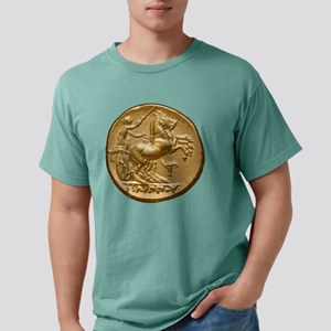 coin horse5 Mens Comfort Colors Shirt