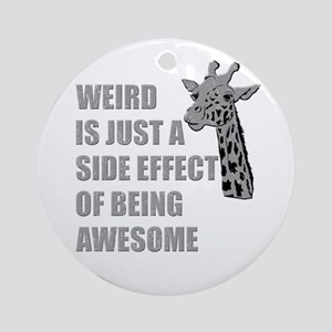 WEIRD is just a side effect of being AWESOME Ornam