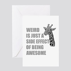 WEIRD is just a side effect of being AWESOME Greet