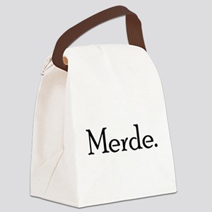 Merde Canvas Lunch Bag