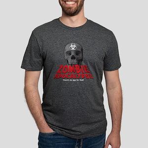 ZombieApp(K) Mens Tri-blend T-Shirt