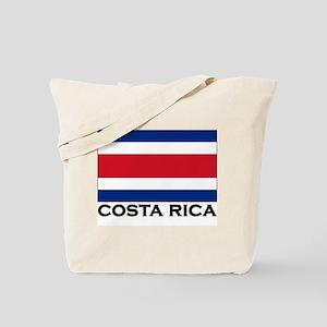 Costa Rica Flag Stuff Tote Bag