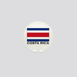 Costa Rica Flag Stuff Mini Button