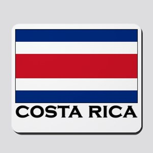 Costa Rica Flag Stuff Mousepad