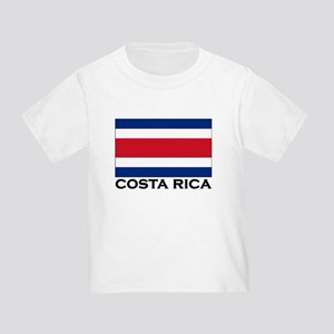 Costa Rica Flag Stuff Toddler T-Shirt