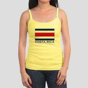 Costa Rica Flag Stuff Jr. Spaghetti Tank