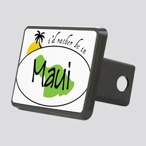 Rather Be In Maui Rectangular Hitch Cover