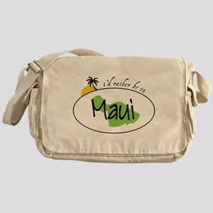 Rather Be In Maui Messenger Bag