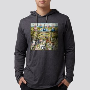 The Garden of Earthly Delights Mens Hooded Shirt