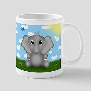 Elephant and Ladybug Mug