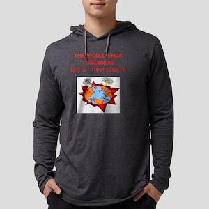 trap shoot Mens Hooded Shirt