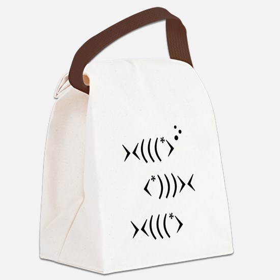 Fishies Canvas Lunch Bag