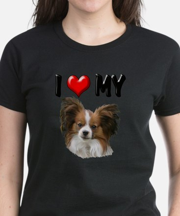 I Love My Papillon T-Shirt
