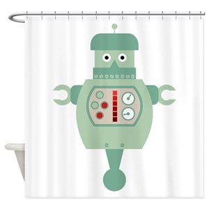 Android Shower Curtains