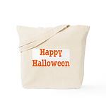 Classic Canvas Trick or Treat Bag, orange letters