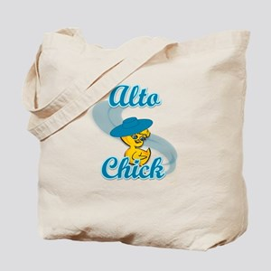 Alto Chick #3 Tote Bag