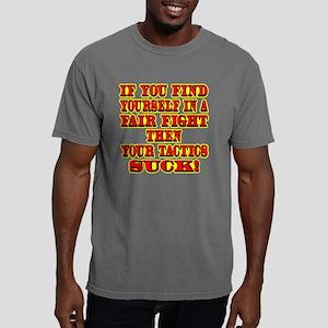 blk_Fair_Fight_Tactics_S Mens Comfort Colors Shirt