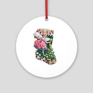 Its a Sugarplum Fairy! Ornament (Round)