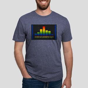 Celebrate Gay Arts Mens Tri-blend T-Shirt