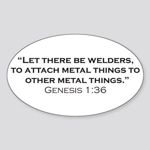 Welders / Genesis Sticker