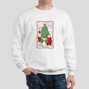 Claus Family Portrait Sweatshirt