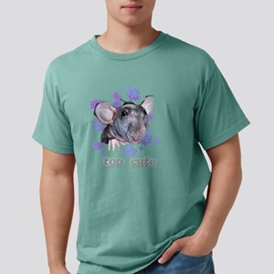 Hairless Rat (dark backg Mens Comfort Colors Shirt