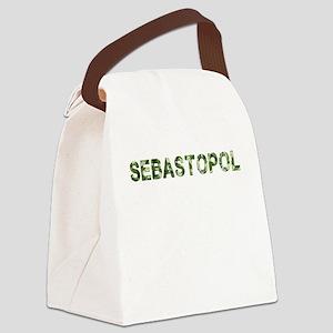 Sebastopol, Vintage Camo, Canvas Lunch Bag