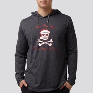 pirate-santa-red-bkT Mens Hooded Shirt