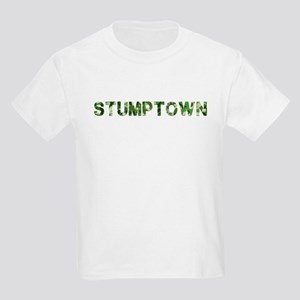 Stumptown, Vintage Camo, Kids Light T-Shirt