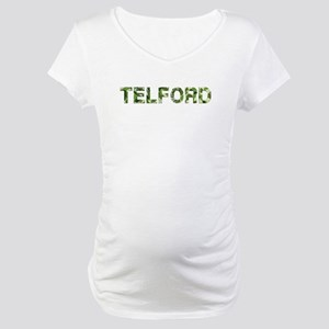 Telford, Vintage Camo, Maternity T-Shirt