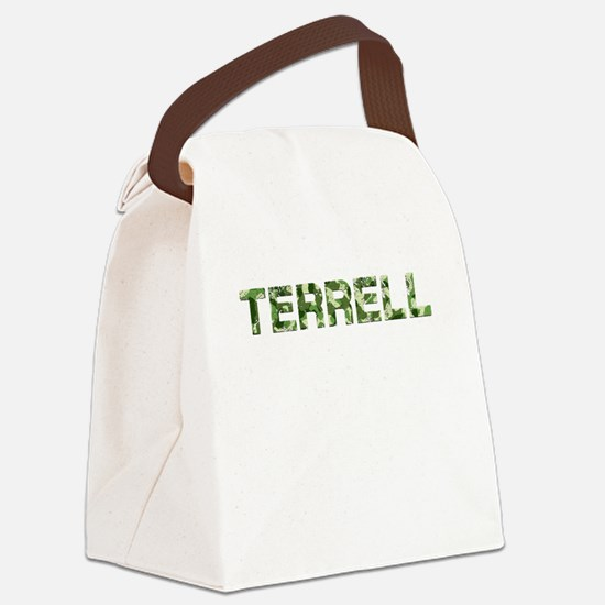 Terrell, Vintage Camo, Canvas Lunch Bag