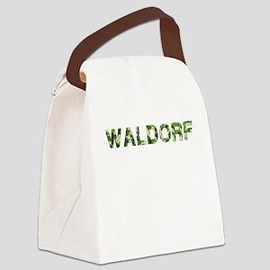 Waldorf, Vintage Camo, Canvas Lunch Bag