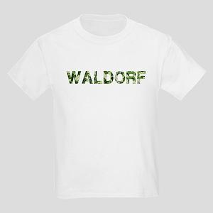 Waldorf, Vintage Camo, Kids Light T-Shirt