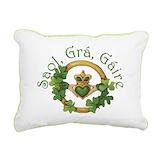 Irish Rectangle Canvas Pillows