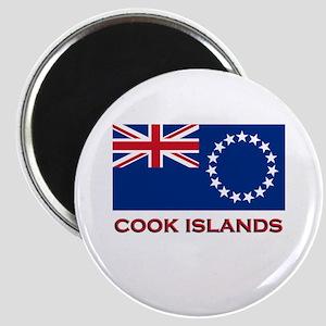 The Cook Islands Flag Merchandise Magnet
