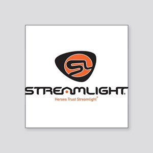 "Heroes Trust Streamlight Square Sticker 3"" x 3"""