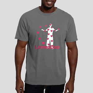 lovingdad_hearts Mens Comfort Colors Shirt