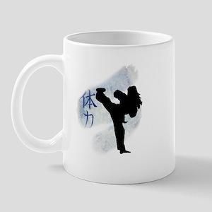 Round Kick 2 Mug
