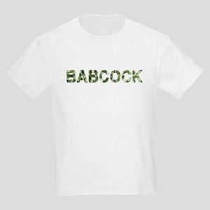 Babcock, Vintage Camo, Kids Light T-Shirt