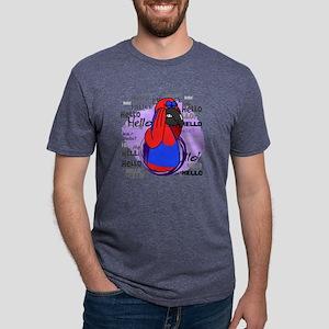 hello_sieclectus Mens Tri-blend T-Shirt