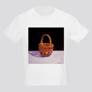 Folk Art Basket Kids T-Shirt