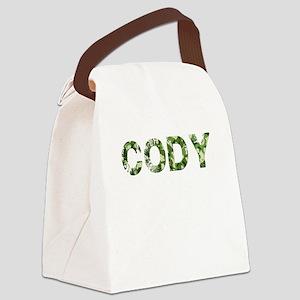 Cody, Vintage Camo, Canvas Lunch Bag