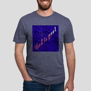 godisgoo_lg Mens Tri-blend T-Shirt