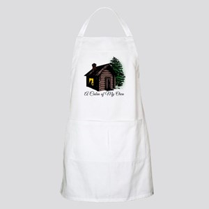 A Cabin of My Own Apron